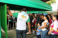 Alrededor de 1.600 estudiantes y docentes salvadoreños demostraron su interés por el futurode la Madre Tierra
