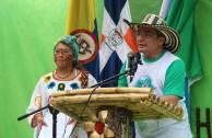 La diversidad étnica caribeña protagonizó el Segundo Encuentro Regional de los Hijos de la Madre Tierra en Colombia