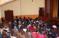 Pláticas de concientización sobre la Donación de Sangre a Estudiantes Normalistas