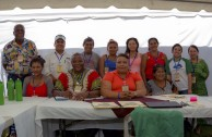 Indigenous people of Central America gather during the 3rd International Encounter of the Children of Mother Earth