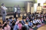 La EMAP participa con charlas educativas en la campaña de reciclaje Luz Verde