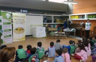 The GEAP participates in the Green Light recycling campaign with educational conferences