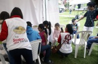 Bogota: blood drive marathon increases volunteers