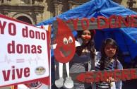La EMAP en Bolivia promueve la cultura de donación de sangre en diferentes ciudades