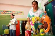 NIÑOS DE NIVEL INICIAL RECIBEN CAPACITACION SOBRE LA REGLA ECOLÓGICA DE LAS 5R