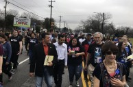 The GEAP attends a march honoring Martin Luther King Jr.