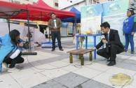 Mu Bolivia en Plaza del Estudiante