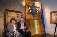 """""""Traces to Remember"""": Tribute to the survivors of the Shoah and in memory of its victims"""