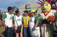 Alcalde de Trinidad-Bolivia en Feria Ambiental