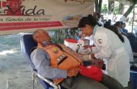 """Acción solidaria: venezolanos presentes en el 8º Maratón Internacional """"En la Sangre está la Vida"""""""