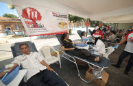 "Solidary act: Venezuelans present in the 8th International Marathon ""Life is in the Blood"""