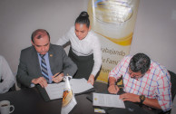 Municipal Presidency in Reforma, Chiapas and the GEAP sign collaboration agreement