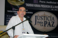 Foro judicial fortalece la administración de una justicia para la paz