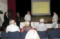 Uruguayan students participate in community seminars