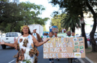 República Dominicana se suma al cuidado y preservación de sus recursos naturales, en una marcha que elevó voces por las 72 especies en peligro de extinción