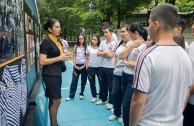 Jóvenes reflexionan sobre las enseñanzas del Holocausto