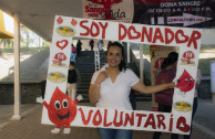 Veracruz University participates in a blood drive