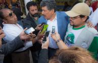 GEAP volunteers set up environmental fair in Veracruz