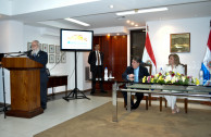"The campaign ""Traces to Remember"" was launched in the Foreign Ministry of Paraguay"