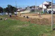 Limpieza de zona verdes