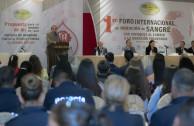 First International Forum of Blood Donation in Juarez