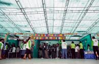 Feria ambiental colegio Jose Antonio Dapelo de Lurin en Lima.