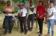 Volunteers of the GEAP honor indigenous peoples