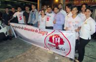 Donantes y activistas
