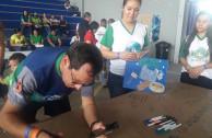 Sensibilización en Feria de la salud en la Umecit