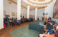 Act of Delivery of the Framework Law in the Senate of Bolivia