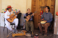 Singing with ancestral instruments