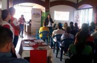 Sensibilizacion and donation at the ISNA in El Salvador