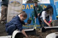Education plus environmental action