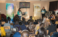 Elementary students learn the 5R's