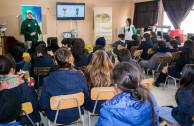 Public and private schools receiving awareness talks