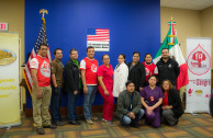 Employees of the US Consulate come together to save lives