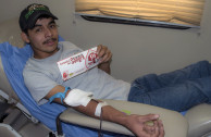 Assistance of 650 Mexicans in blood donation.