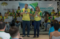 First day of activities - 1st National Encounter of the World Youth Movement