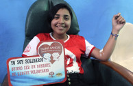 Salvadoran heroes in the 10th international blood drive marathon