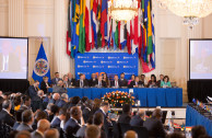 The GEAP at the beginning of the 48th session of the OAS General Assembly.