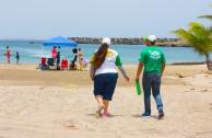 Voluntarios de la EMAP expusieron a la ciudadanía acerca de la importancia de reconocer a la Madre Tierra como un ser vivo