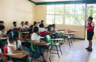 Sesiones educativas.