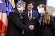 representantes EMAP y Secretario OEA