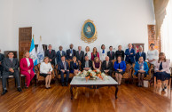 The Supreme Court of Justice of Guatemala offers a welcome reception to the board of GEAP and the speakers of the Justice and Democracy Session