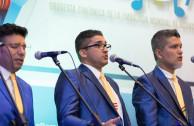 From Left to Right Martin Franco of Colombia, José Guillermo Rivera of Puerto Rico, David Lara of Bolivia.