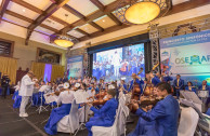 OSEMAP is made up of global musicians from different countries, who traveled to Guatemala weeks before to rehearse and participate in this concert