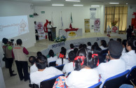 The volunteers of the GEAP organized awareness and blood drives.