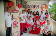 Volunteers of the GEAP execute actions that foster a culture of solidarity