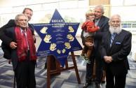 Familia Brod, Don Jacobo junto a su hijo George, su nieto Steven y su bisnieto Jack Lyndon.