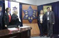"""Universidad Nacional de Asunción recibe Placa """"Huellas para no olvidar"""""""